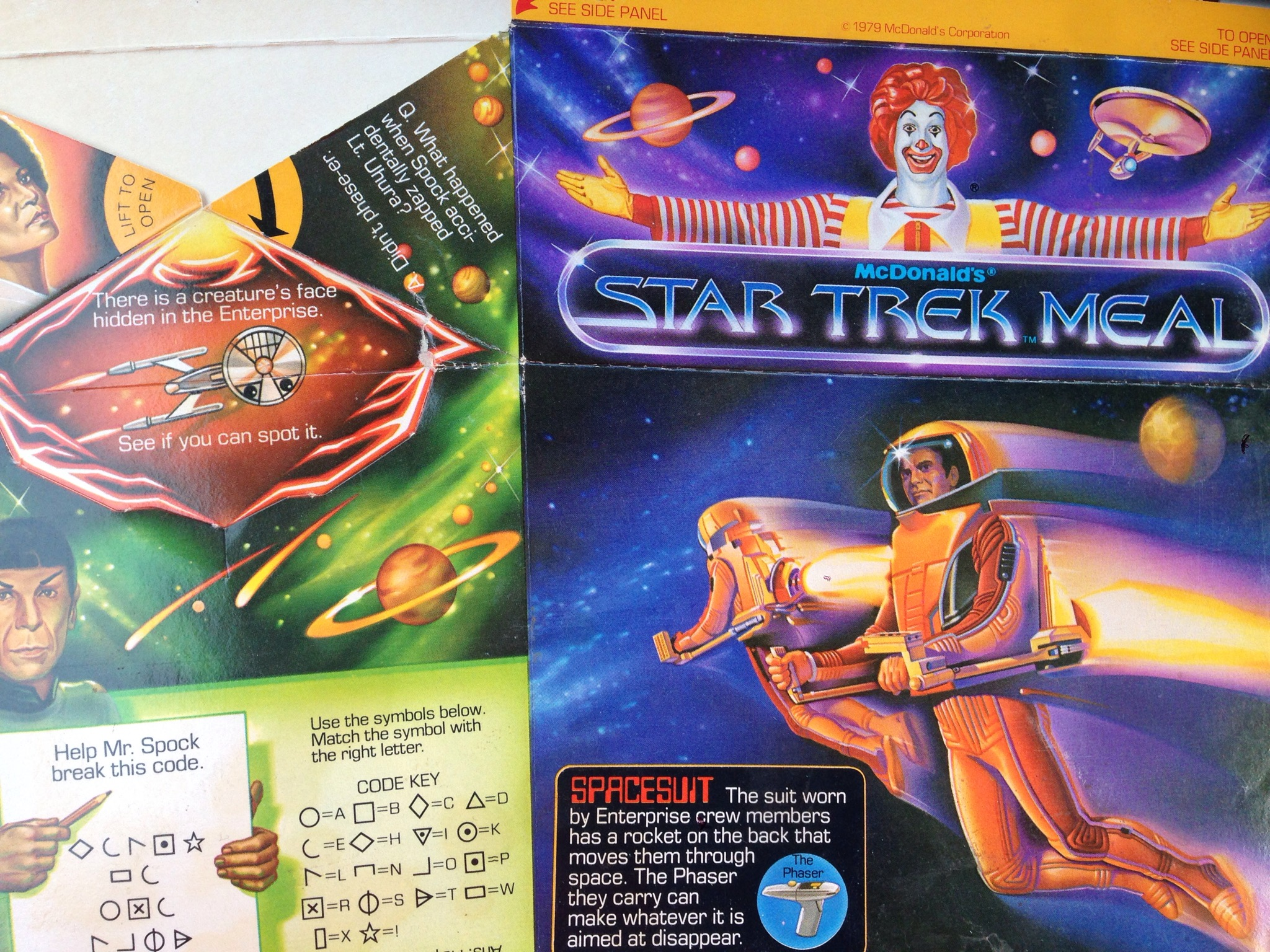 The first McDonald's Happy Meal movie tie-in was the Star ...